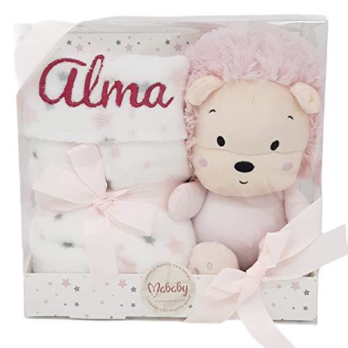 My Lion, Set de Manta Personalizada para Bebé y Peluche | Regalos Para Recién Nacidos de Mababyshop