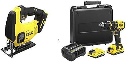STANLEY CPROF635 Kit: Taladro Percutor BRUSHLESS + Sierra de Calar V20