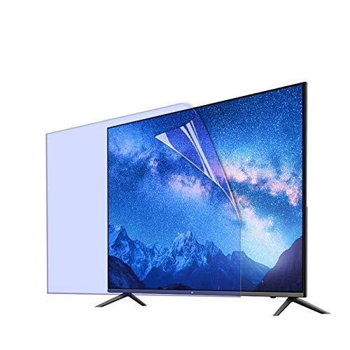 GFSD 32-75 Pulgadas Protector de Pantalla TV Película Protección Ocular Antideslumbrante Luz Azul Anti para LCD LED Y Plasma HDTV (Color : HD Version, Size : 75 Inch 1645X930mm)