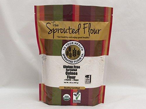 5lb. Organic, Sprouted Quinoa Flour
