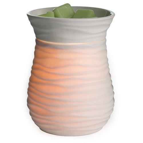 Candle Warmers Harmony Illumination Duftlampe elektrisch weiß Porzellan