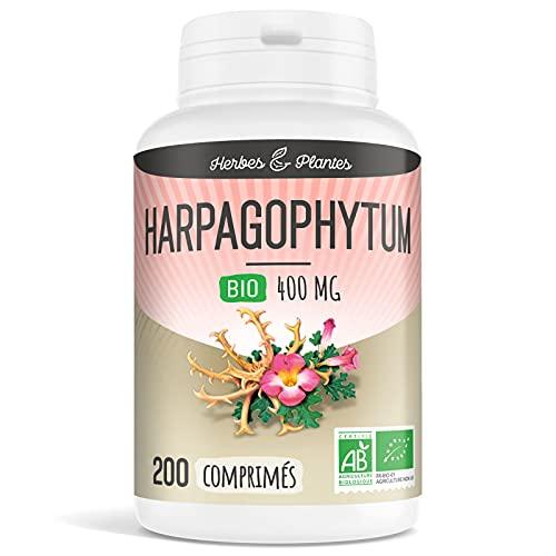 Herbes Et Plantes Harpagophytum Bio 200 Comprimés 400 mg