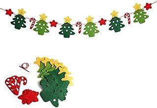 クリスマス不織布花旗を掲げるデパートの店構えクリスマスムードデコレーション用品 (DQ-9)