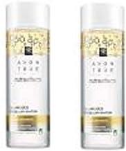 Avon True Nutraeffects Agua micelar infundida con aceite, nutrición profunda para piel normal a seca, 2 unidades de 200 ml