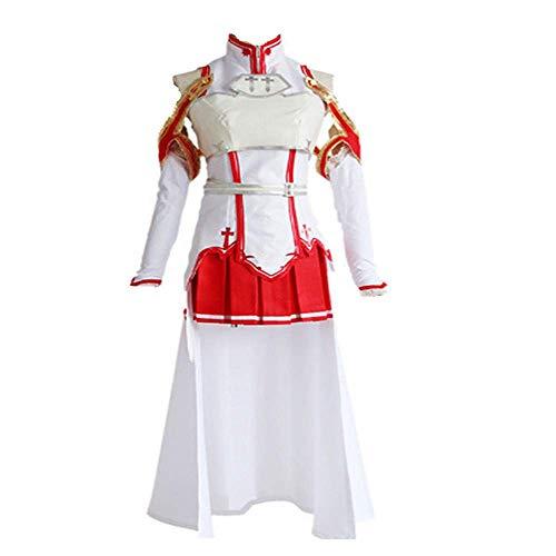 charous Anime Sword Art Online Sao Cosplay Disfraz de Halloween Uniforme para Las Mujeres Full Set