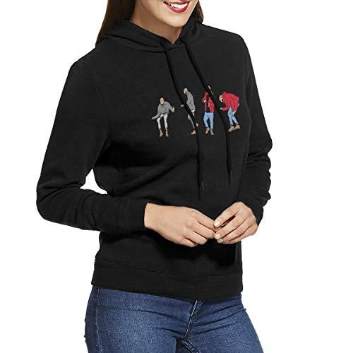 Uoliicoze Frauen Geschenk Hotline Bling Drake Views Logo Sweatshirts XXL Schwarz