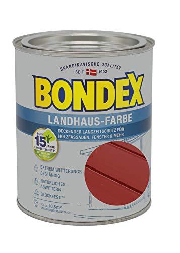 Bondex Landhaus-Farbe 0,75l schwedenrot - 391302