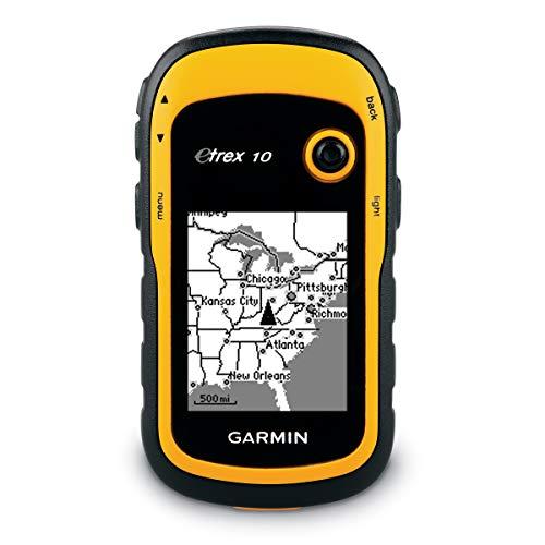 Garmin Etrex 10 - GPS portátil con Pantalla transflectiva Monocromo de 2,2 Pulgadas (Reacondicionado)