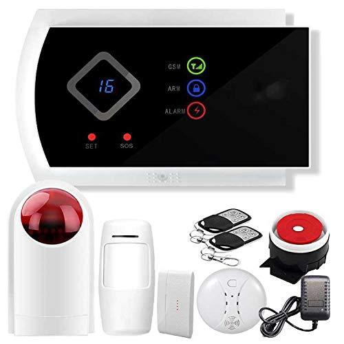 Sky God LED-display draadloos Home Alarm System Afstandsbediening Intelligent Wireless Alarminstallatie Auto Dial Siren meertalige GUI en Engels App Contro