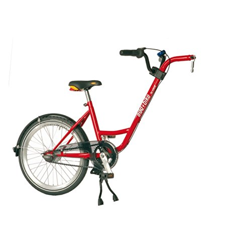Diverse Unisex – Erwachsene Trailer add + bike-3091803200 Bike, Rot, One Size