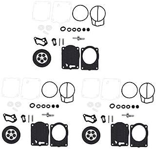 WFLNHB Triple Carburetor Rebuild Kit fits for Yamaha XL XLT 1200 GPR1200 GP1200R XL1200 XLT1200 451469 Carb