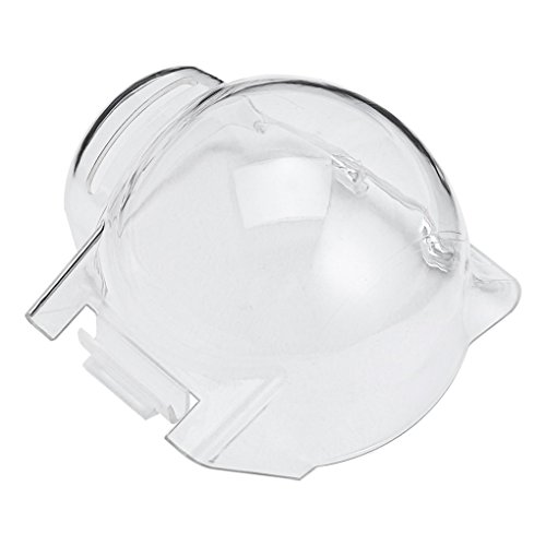 beIilan Transparent Gimbal Kamera-Schutzhülle Lichtblende Cap für DJI Mavic Pro Drone