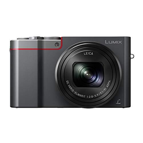 Panasonic Lumix DMC-TZ100 fotocamere digitali, 20,9 Mpix, con Zoom ottico 10 x, colore: argento