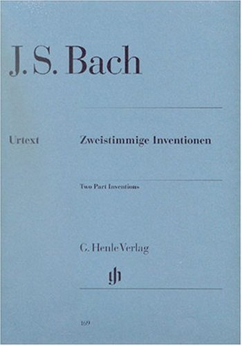 Inventions A 2 Voix Bwv772 786 Piano
