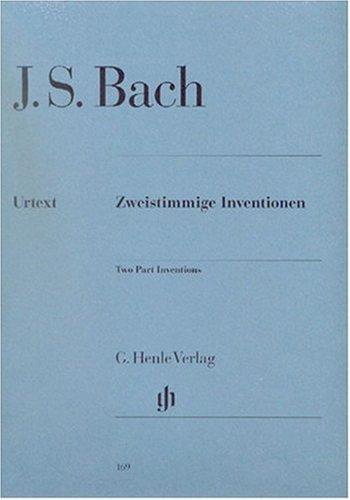 Zweistimmige Inventionen Bwv 772-786. Klavier