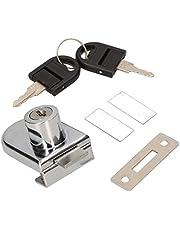 KOTARBAU Glazen deurslot, kantoorglasslot, glazen dispenser, push-pull, wijnkast, kastslot, vitrineslot, meubelslot, centraal slot, meubelslot