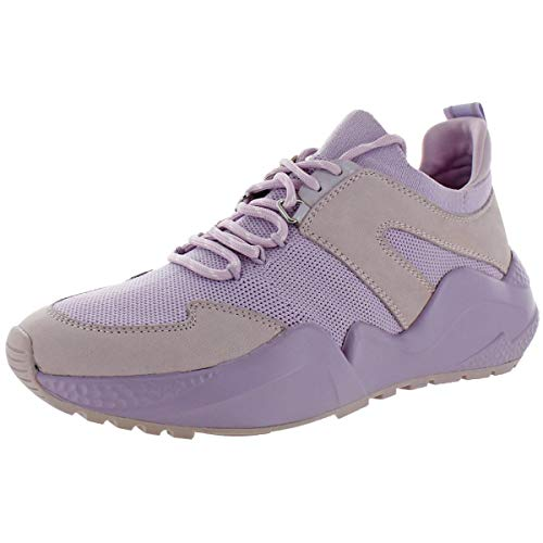 Kenneth Cole New York Womens Maddox Jogger Workout Knit Running Shoes Purple US