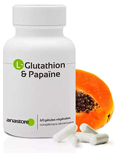 Anastore L - Glutathion e Papaya 400 Mg - 60 capsule