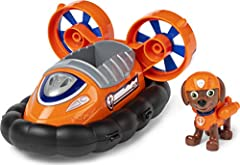 HOVERCRAFT TOY CAR: Zuma is ready to dive in with his Hovercraft! With authentic detailing, working wheels and fans that spin, this water vehicle is ready to take on exciting rescue missions COLLECTIBLE ZUMA FIGURE: This Hovercraft includes a collect...