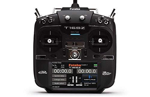 Futaba T16SZ Mode 1 Radiocomando 2,4 GHz Numero canali: 16 incl. ricevitore