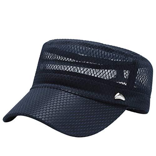 JIAHG Gorra de béisbol para hombre, gorra de malla, gorra...
