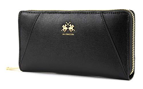 La Martina La Portena Woman Wallet Black