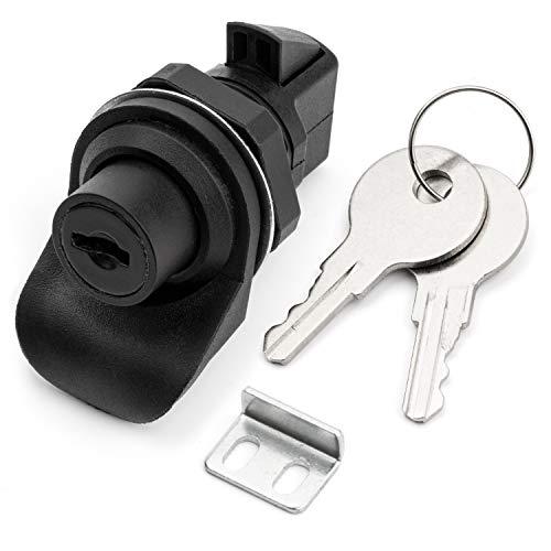 Westway Locking Push Button Latch for Marine Boat Radio Box, Glovebox, Tool Box, Electronic Box, Motorcycle Glove Box Lock.