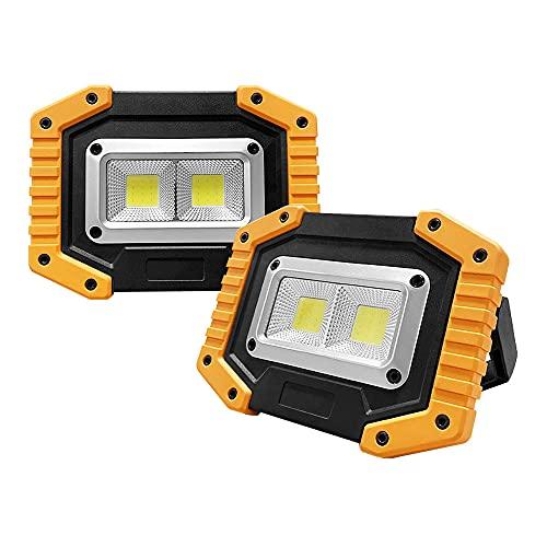 Ltybri Rechargeable Work Light 1500 Lumen LED Work Light...
