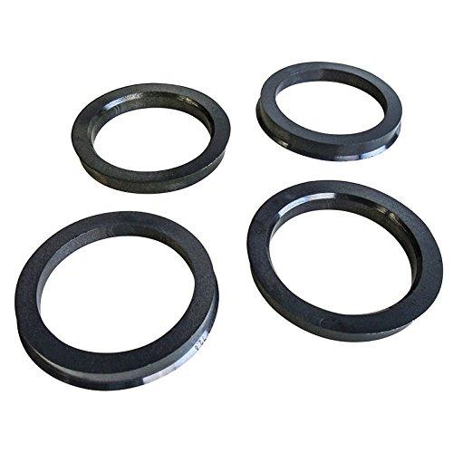 Set di 4anelli di centraggio, diametro esterno: 72,6mm, diametro interno: 57,1mm
