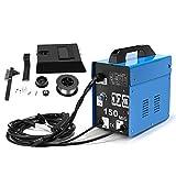 SUNGOLDPOWER Equipos de soldadura MIG 150 230V Soldador Inverter hilo continuo sin gas maquina de...