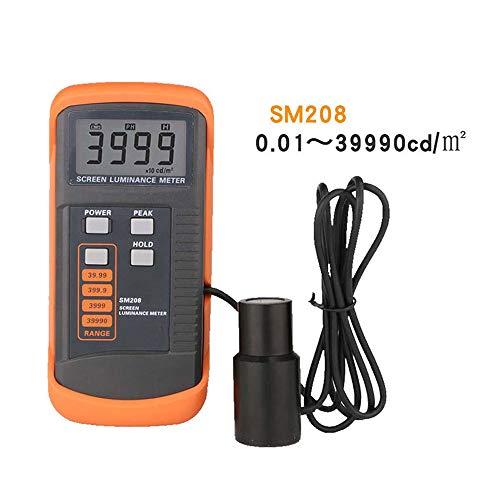 QWERTOUR Bildschirmhelligkeit Meter Luminanzmeßgerät 0.01-39990cd / m2 Geringer Stromverbrauch Leuchtdichte-Messgerät mit Mini Light Detector