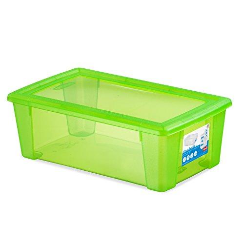 Stefanplast Visual Box Housse Universel, Vert Fluo, Medium/32.5 x 19 x 11 cm