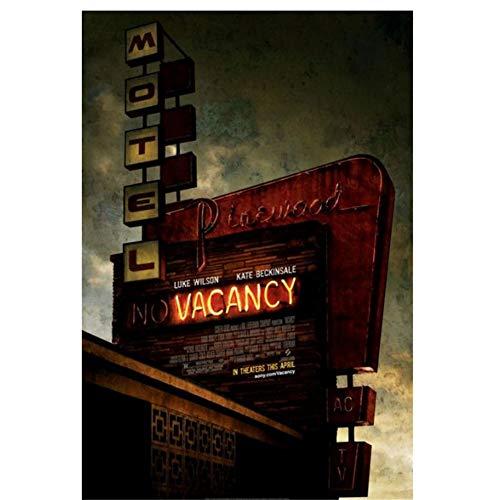 DNJKSA Stellenangebot (2007) Filmplakat Vintage Retro Hd Kunstplakat Druck Leinwand Geschenk Kunstwerk Raumbilder Wohnkultur -50x75cm Kein Rahmen