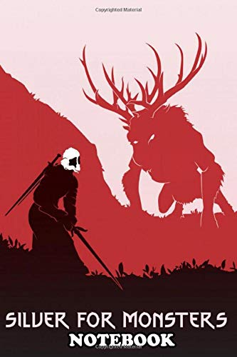 """Price comparison product image Notebook: Vector Art Of The Incredible World Of Witcher Part Two ,  Journal for Writing,  College Ruled Size 6"""" x 9"""",  110 Pages"""