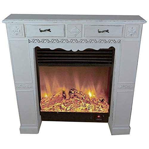 Jeco Fireplace Mantle in Distressed Gray