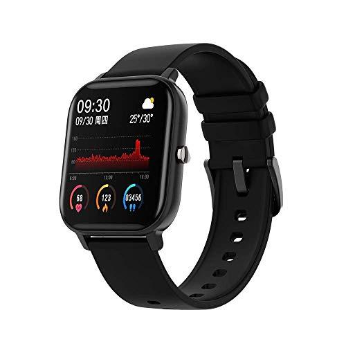 MEETGG Smart Watch Touch Pantalla táctil IPx7, resolución de Pantalla Alta de Vidrio Templado, Puede Contar los Pasos, monitorear el monitoreo de la Salud, la información Push Push Analysis