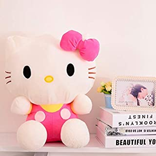 Tequila DS Animals Stuffed Pillow 20CM Cute Hello Kitty Cat Plush Toy Lovely Stuffed Animal Doll Pillow Kids Toy Girlfriend Baby Birthd Gift KT-Pink Hello Kitty