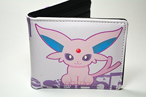 Pokemon Eevee Eeveelution Bifold Wallet (Espeon)