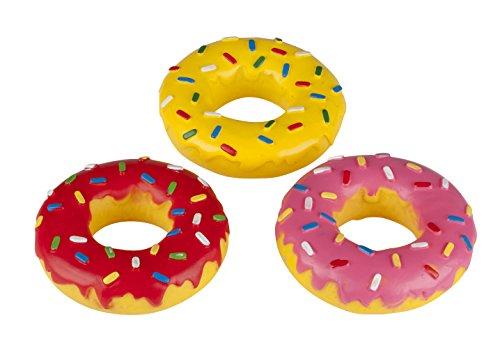 Dog - 29386 - Jouet pour Chien Donut et Son - 15 cm