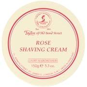 Taylor of Old Bond Street 150g Rose Shaving Cream Bowl