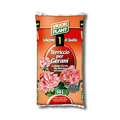 VIGORPLANT Terriccio per Gerani 50 Lt