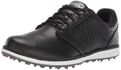 Skechers Elite 3 Damen-Golfschuhe, ohne Spikes, wasserdicht, Schwarz (schwarz / weiß), 39 EU