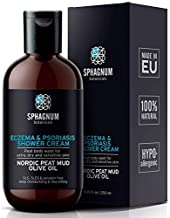 Eczema Body Wash & Cream 2in1 – 100% Natural pH Balancing Acids and Olive Oil Shower Cream. Sulfate Free, Deep Moisturizing Treatment for Very Dry & Itchy Skin. Best for Relieving Psoriasis.…