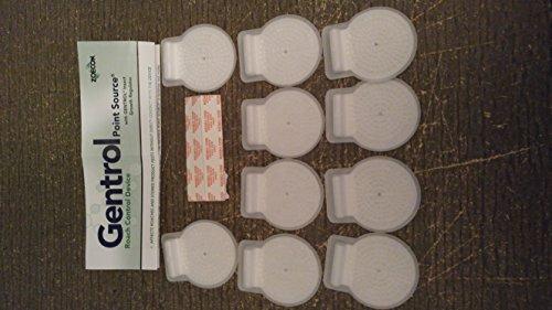 10 discos Gentrol Point Source IGR de crecimiento de insectos reguladores ~~ ~ Media caja~~ ~ Control de cucarachas alemanas y otras cucarachas, así como plagas de productos almacenados