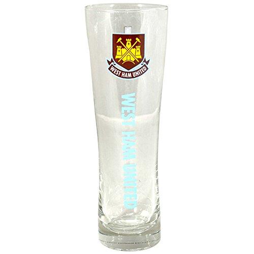 West Ham Officiële Tall Bierglas - Meerkleurig