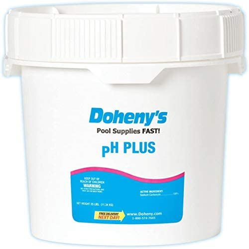 Doheny s pH Plus Raise pH Levels Prevent Eye Irritation and Skin Dryness Reduce Equipment Corrosion product image