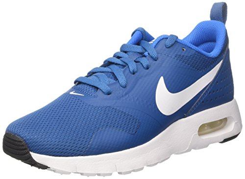 Nike Kinder und Jugendliche AIR MAX Tavas (GS) Laufschuhe, Blau (Industrial Blue/White/Photo Blue/Black), 37.5 EU