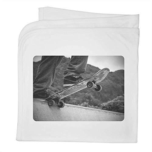 Stamp Press 'Skateboard' Babydecke / Schal aus Baumwolle (BY00003325)