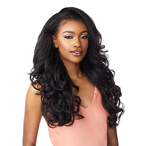 Sensationnel Instant Weave Synthetic Half Wig with Drawstring Cap - IWD 003 (2 Dark Brown)