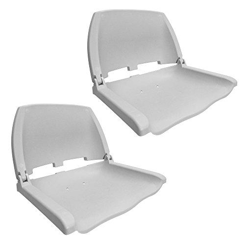 Waterside2er Set Klappbarer Allwetter Bootssitz (Boat Seat)